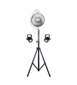 CSL 20 inch Mirror Ball Stand Package Rental